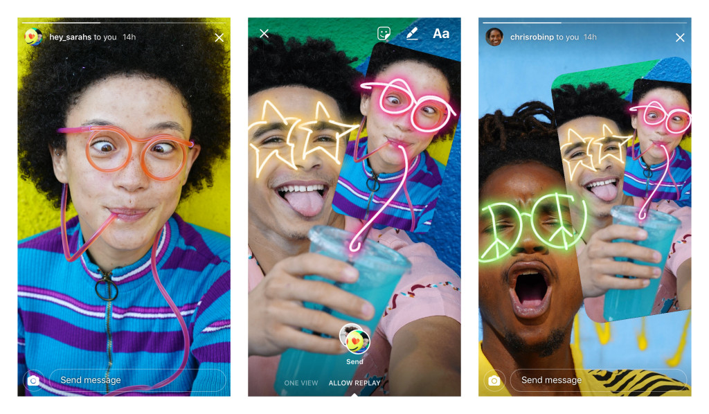Instagram adds a way to remix photos for more wacky fun