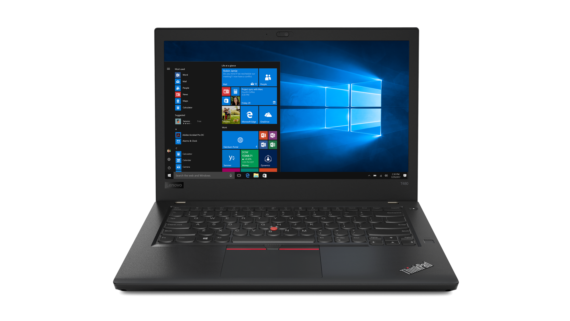 Lenovo Announces New ThinkPad T And L Productivity Laptops