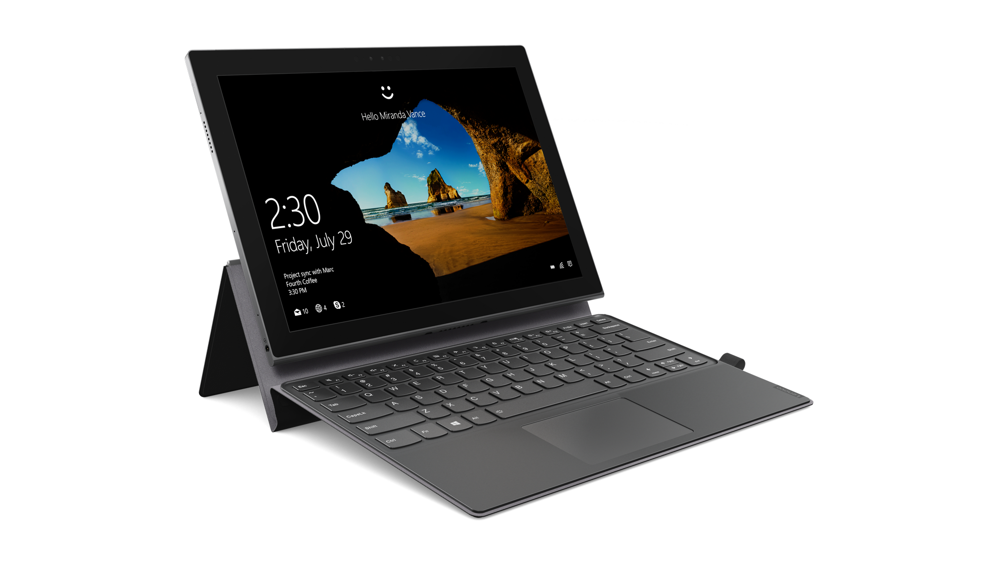 Lenovo's first Snapdragon powered PC Miix 630 unveiled today before CES 2018