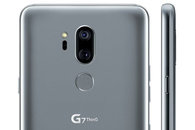 LG G7 ThinQ's leaked press render leaves nothing to the imagination